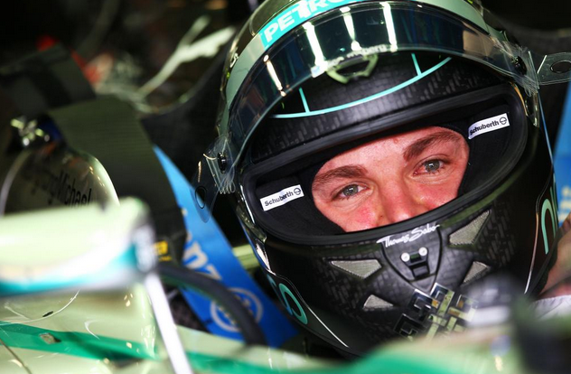 Rosberg 1° nella seconda sessione di prove libere del Gp d'Italia