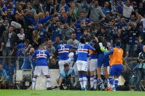 Genoa-Sampdoria 0-1, Gabbiadini