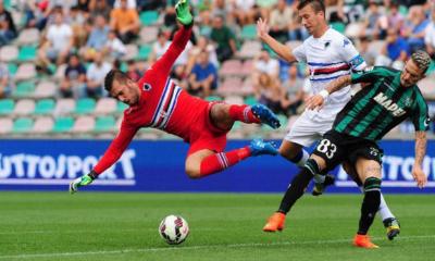 Pagelle Sassuolo-Sampdoria 0-0: Viviano alla Benji, Zaza Conte-dipendente