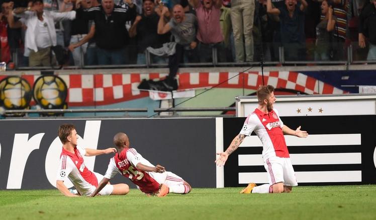 Ajax-Psg 1-1, Schone
