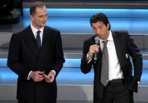 Gigi Buffon e Seba Rossi, due grandi portieri della Serie A