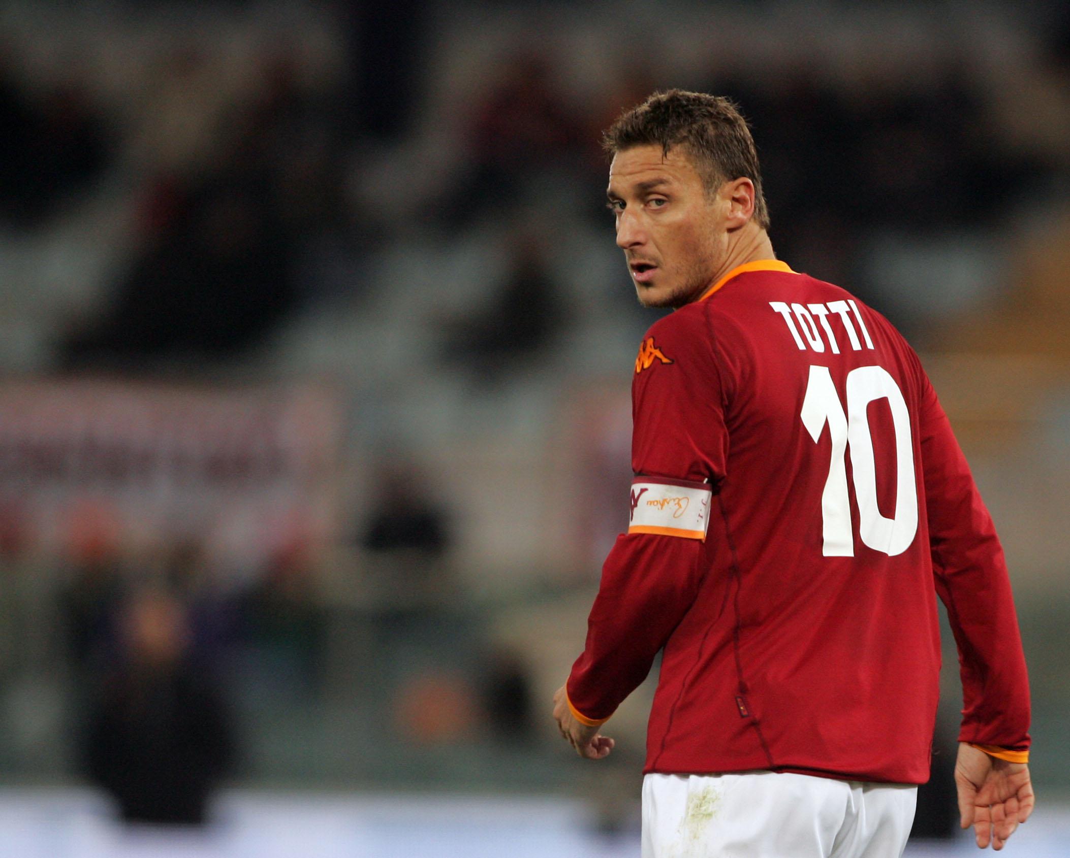 Francesco Totti, 20 dal primo gol in giallorosso