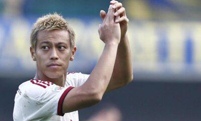 Honda, flop del Milan, potrebbe diventare protagonista del calciomercato