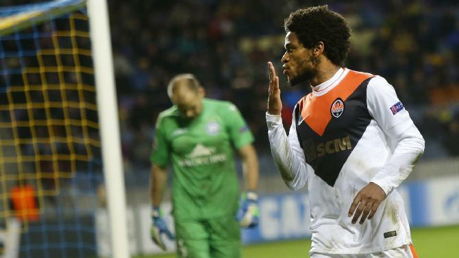 Luiz Adriano protagonista assoluto nel 7-0 a domicilio dello Shakhtar contro il BATE