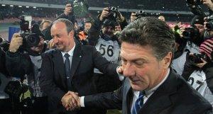 Rafa Benitez e Walter Mazzarri: ritorno al passato per i tecnici delle due squadre