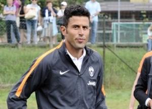 Fabio Grosso, tecnico della Juventus Primavera, sconfitta dai pari età dell'Atletico Madrid nella 2^giornata di Youth League.