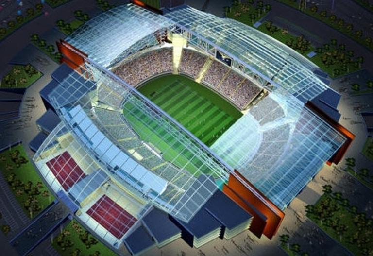 Lazio, il progetto del nuovo stadio