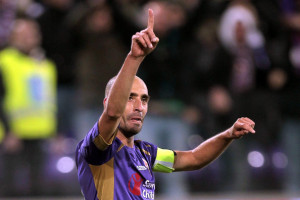 Borja Valero in gol in Fiorentina-Udinese 3-0