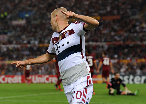 Arjen Robben, il suo gol è uno dei più belli della terza giornata di Champions League