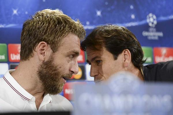 La conferenza di Garcia e De Rossi alla vigilia della partita col Bayern