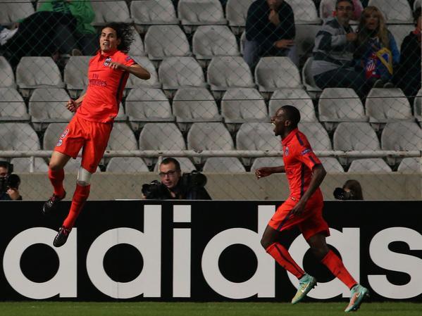 APOEL-PSG 0-1, Cavani