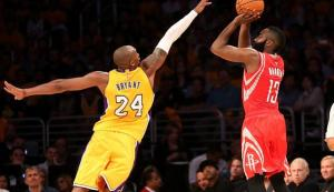 LOS ANGELES LAKERS-HOUSTON ROCKETS 90-108