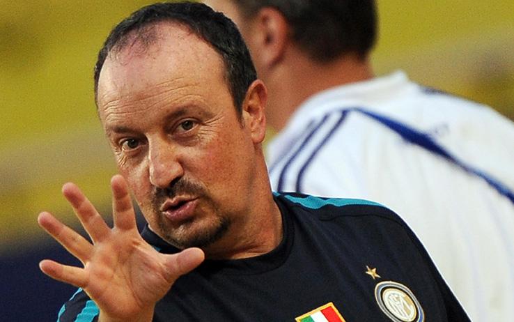 Benitez, ex allenatore dell'Inter