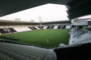 Visuale interna del Jassim Bin Hamad Stadium, teatro della sfida del prossimo 22 Dicembre tra Juventus e Napoli