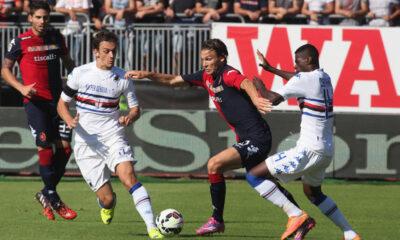 Cagliari-Sampdoria finisce 2-2