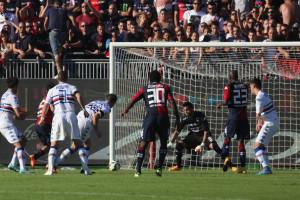Il gol di Sau ha salvato il Cagliari dall'ennesima figuraccia