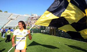 Giorgio Corona, festeggia la promozione in Serie B con la Juve Stabia
