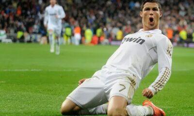 Cristiano Ronaldo, uomo simbolo del Real Madrid, è uno dei protagonisti del calcio estero