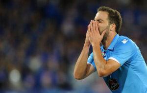 Atalanta-Napoli: Higuain segna il gol del pareggio ma poi sbaglia il rigore decisivo