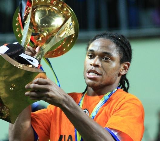 Luiz Adriano, capocannoniere della Champions League