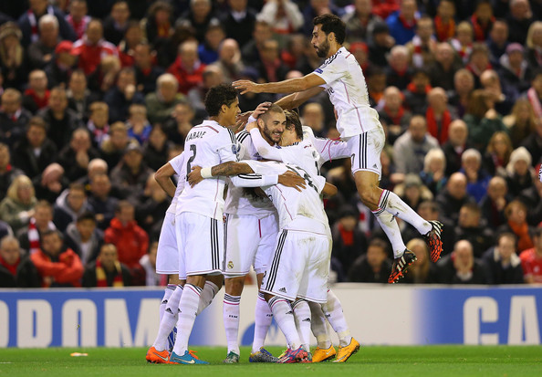Il Real Madrid si sbarazza facilmente del Liverpool