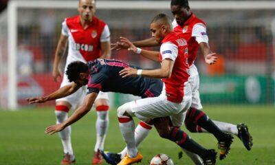 Monaco-Benfica, alcuni momenti del match