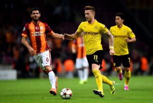 Galatasaray-Borussia Dortmund 0-4: ottima prestazione di Reus