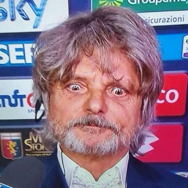Massimo Ferrero, patron della Sampdoria.