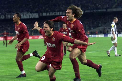 Juventus-Roma 2001.