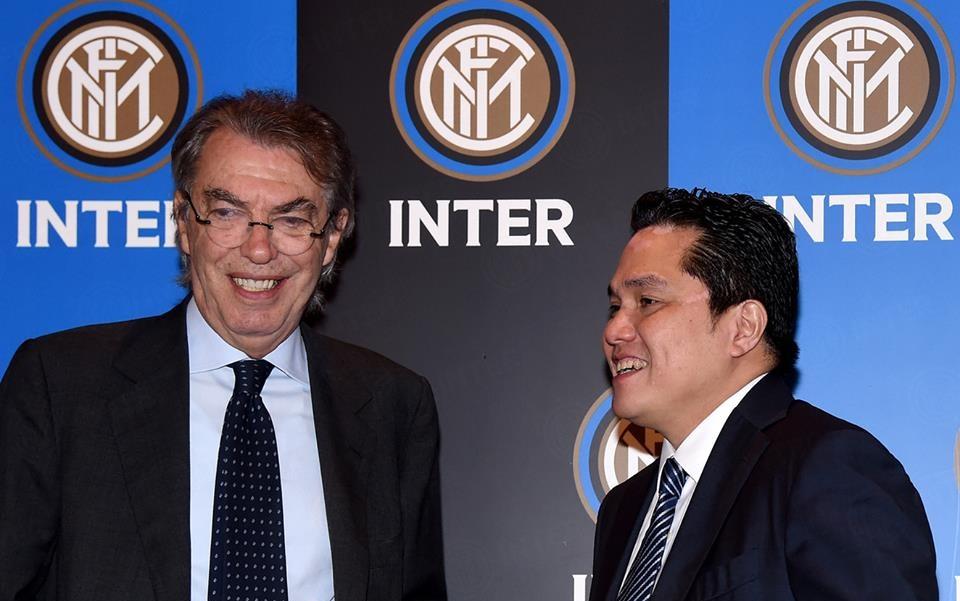Moratti e Thohir Inter