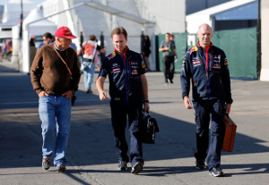 Niki Lauda;Horner;Newey