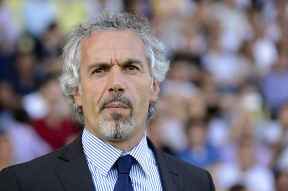 Roberto Donadoni, Juve nella conferenza della viglia di Sassuolo-Parma, ha dovuto parlare più della crisi societaria che della partita.