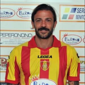 Serie D: Cosimo Tedesco, bomber del Gallipoli a segno con una doppietta nel successo dei salentini sulla Sarnese per 2-0