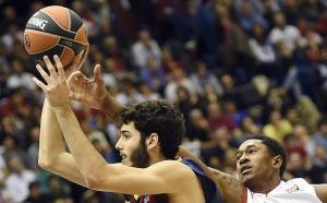 Alex Abrines MVP nel match vinto dai catalani a Milano
