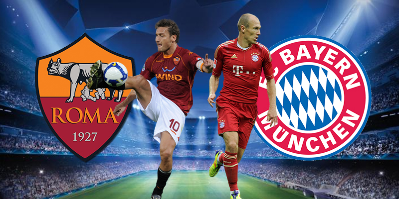 Bayern Monaco - Roma diretta streaming