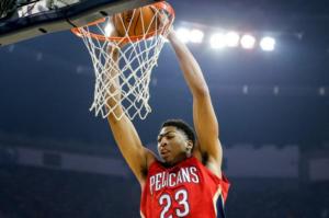 Anthony Davis, fenomeno in forza ai New Orleans Pelicans
