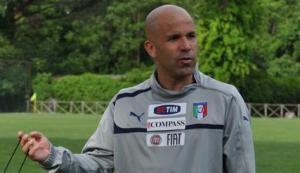 Gigi Di Biagio è CT dell'Under 21 dell'Italia dal 2 luglio 2013