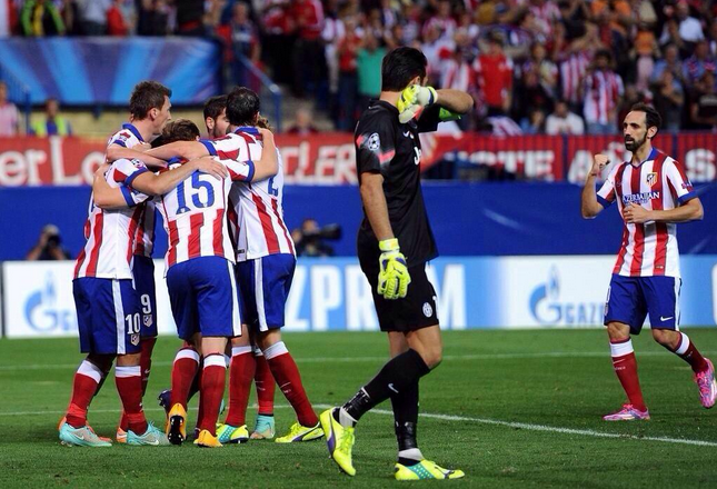 Atletico Madrid-Juventus 1-0 in 10 tweet