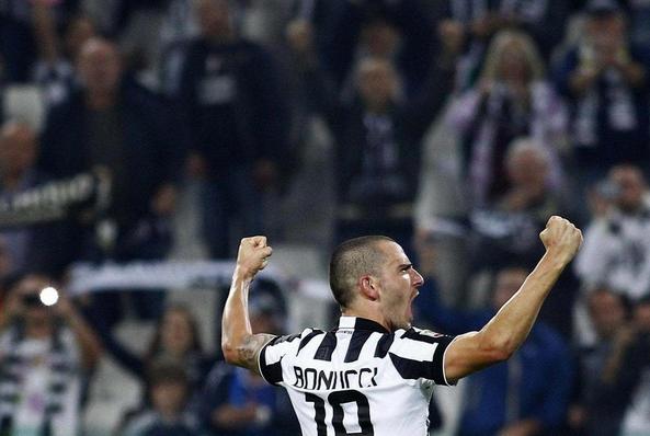 E' Juventus di Leonardo Bonucci la rete più bella della sesta giornata Juventus