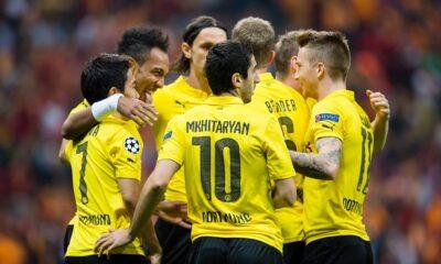 Il Borussia Dortmund, protagonista di questa serata di Champions con il successo a Istanbul