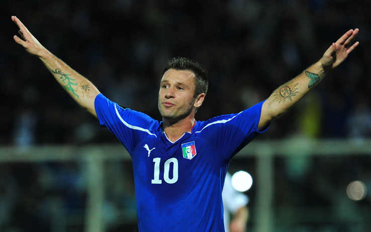 Antonio Cassano, simbolo dell'Italia che...non ce la fa