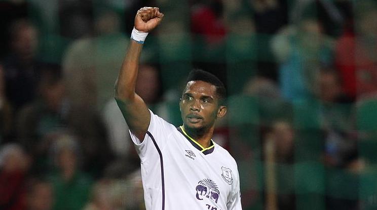 Eto'o salva l'Everton contro il Krasnodar, 1-1 il finale