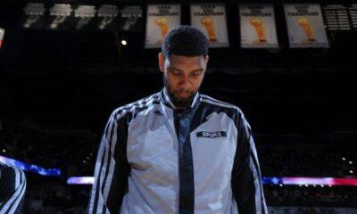 Tim Duncan, ancora una volta trascinatore per i San Antonio Spurs