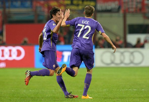 Milan-Fiorentina 1-1: De Jong colpisce, Ilicic risponde