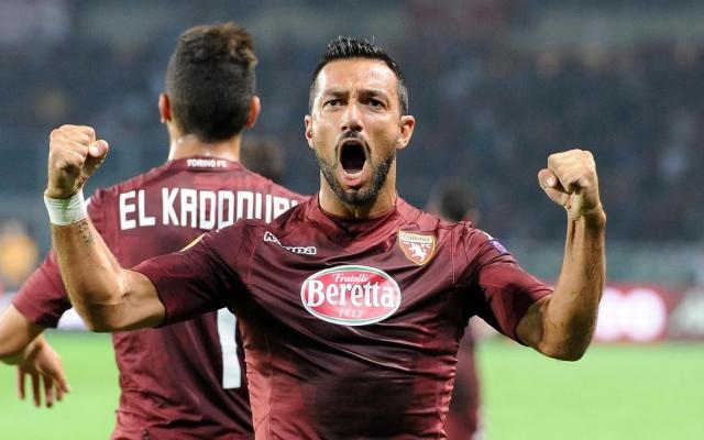 Fabio Quagliarella guiderà l'attacco del Torino contro il Palermo