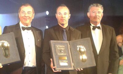 andres iniesta vince il golden foot 2014