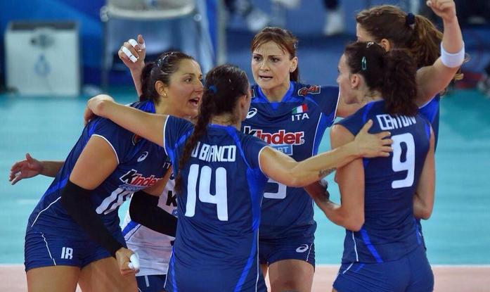 Mondiali di Volley: Italia in semifinale