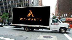 Il camioncino dell'iniziativa di Half-Life 3