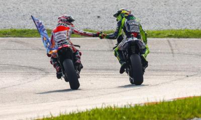 Marquez e Rossi, Gp Malesia