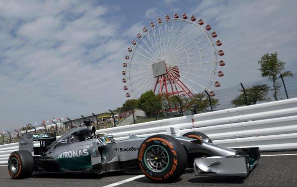 Rosberg ed Hamilton dominano le prime due libere a Suzuka